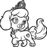 Puppy Dog Coloring Pages Girl Pumpkin Pup Puppy Dog Coloring Page Wecoloringpage
