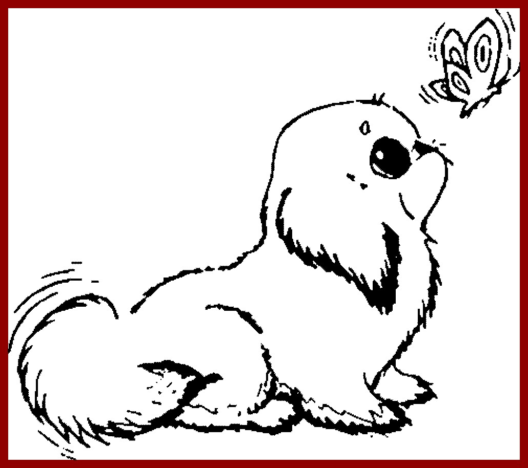 Puppy Dog Coloring Pages Puppy Dog Coloring Pages Excellent Colouring Dogs Awesome Love Cute
