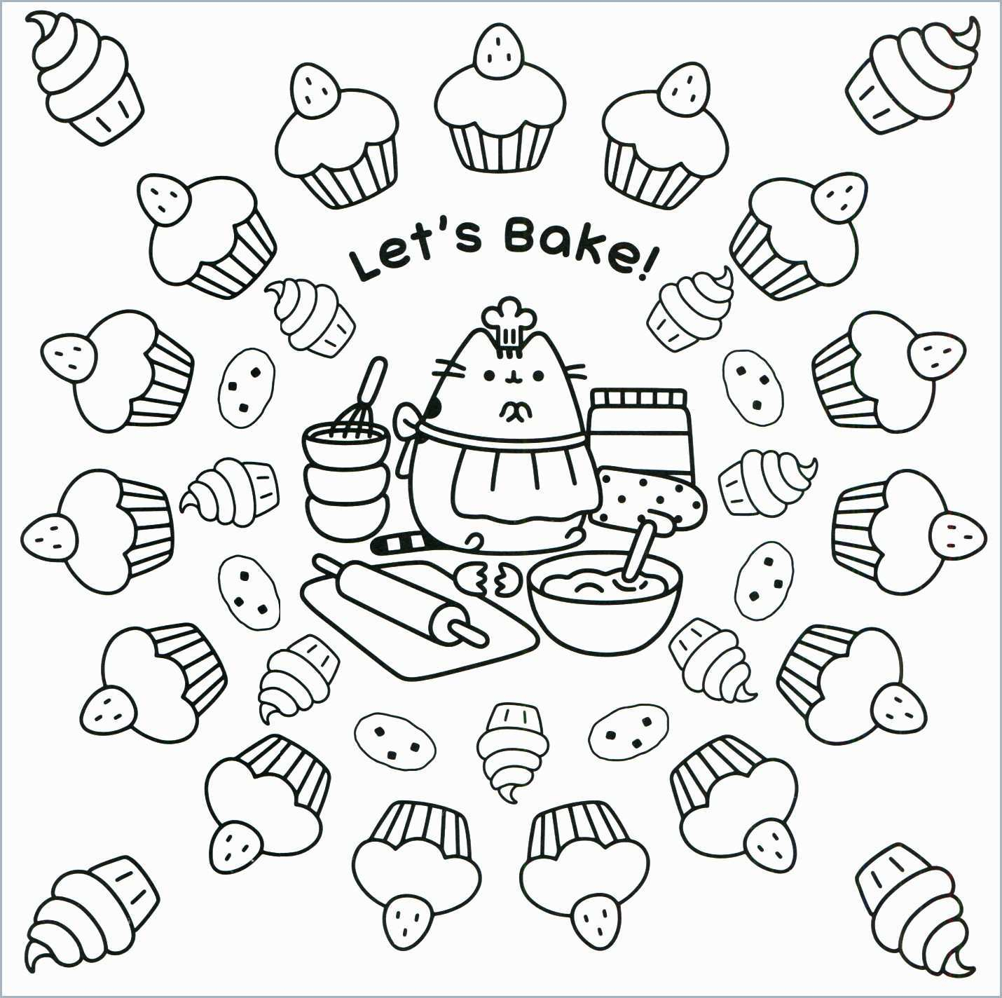 Pusheen Cat Coloring Pages Cat Coloring Pages For Kids With Coloring Pages Pusheen Cat Coloring
