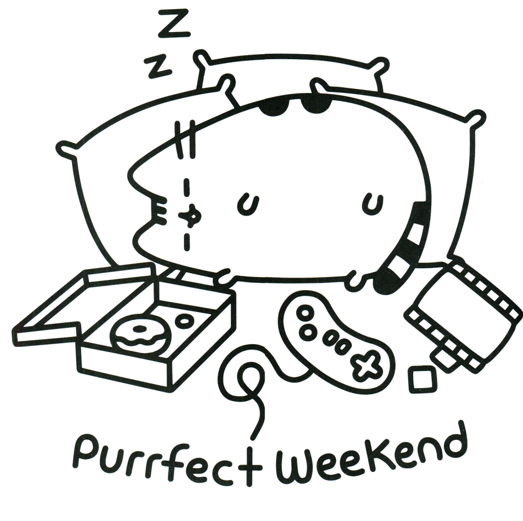 Pusheen Cat Coloring Pages Coloring Pages Cat Coloring Page Kitty Sheets Kitten Fabulous