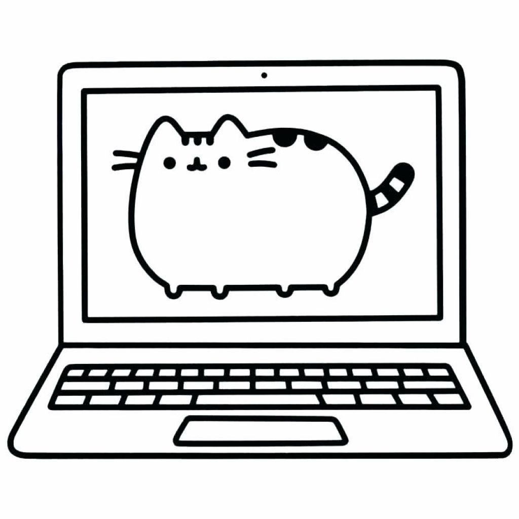 Pusheen Cat Coloring Pages Coloring Pages Pusheen Cat Coloring Sheets Pages For Kids