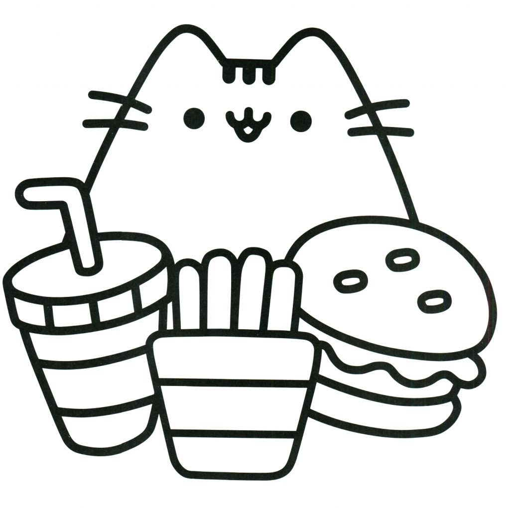 Pusheen Cat Coloring Pages Coloring Pages Pusheen Catring Sheets Pages Nocl Book The Fabulous