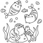 Pusheen Cat Coloring Pages Coloring Pages Pusheen Pusheen Cat Coloring Pages 4 Colorings