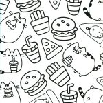 Pusheen Cat Coloring Pages Pusheen Coloring Pages 1020 8 Futurama