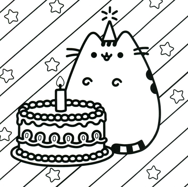 Pusheen Cat Coloring Pages Pusheen The Cat Coloring Pages Cute Minecraft Fresh Nyan Colouring