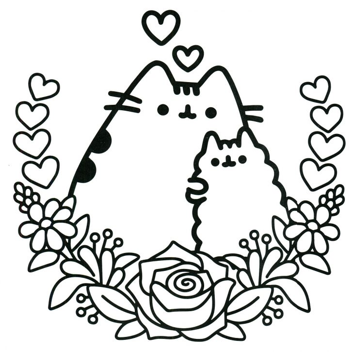 Pusheen Cat Coloring Pages Pusheen Unicorn Coloring Pages At Getdrawings Free For