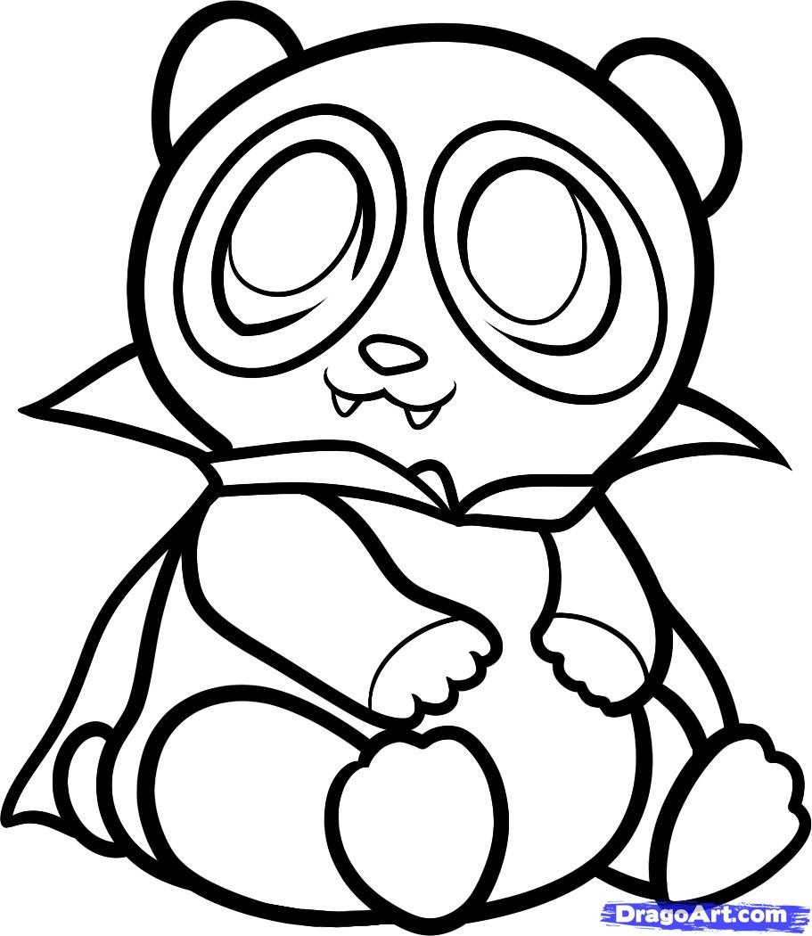 Red Panda Coloring Page Cute Panda Coloring Pages