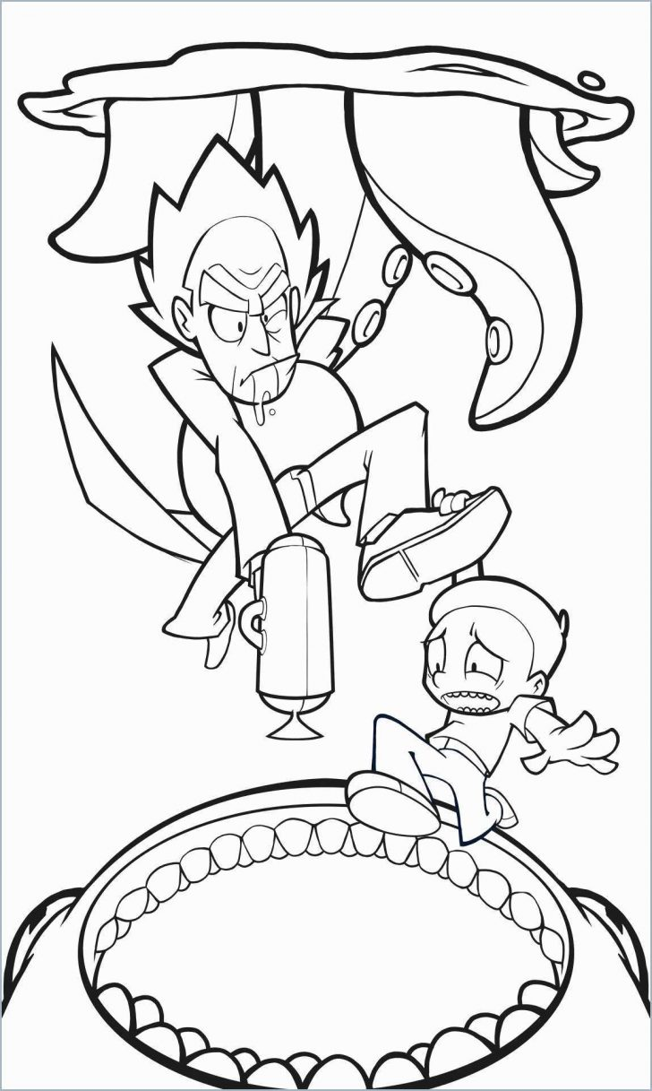 Rick And Morty Coloring Pages Rick And Morty Coloring Book Mountainstyleco