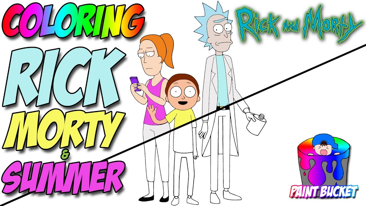 Rick And Morty Coloring Pages Rick And Morty Coloring Page Cartoon Network Coloring Book For