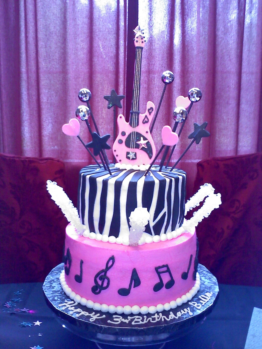 Rock Star Birthday Cake Rock Star Birthday Cake Cakecentral