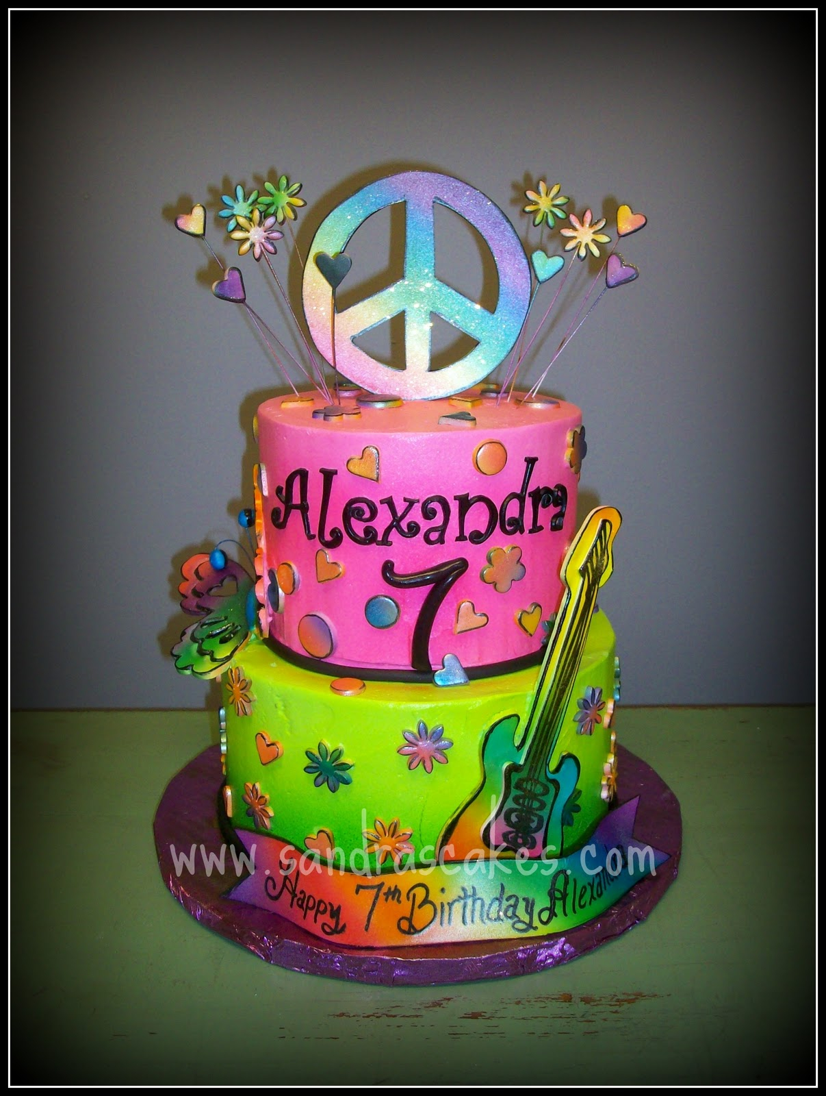 Rock Star Birthday Cake Rock Star Birthday Cake