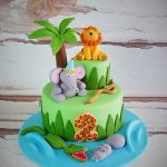 Safari Birthday Cake Pin Yeleina Haydel On Birthday Picture Ideas Pinterest Jungle