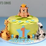 Safari Birthday Cake Safari 1st Birthday Cake This Cake Is An Order I Received Flickr