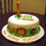 Safari Birthday Cake Safari Birthday Cakecentral