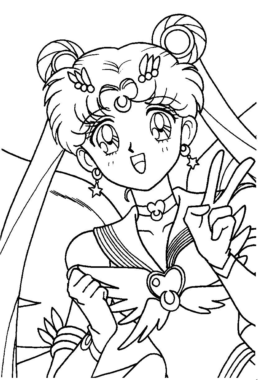 Sailor Moon Coloring Pages Chibi Sailor Moon Coloring Pages Awesome Eternal Sailor Moon