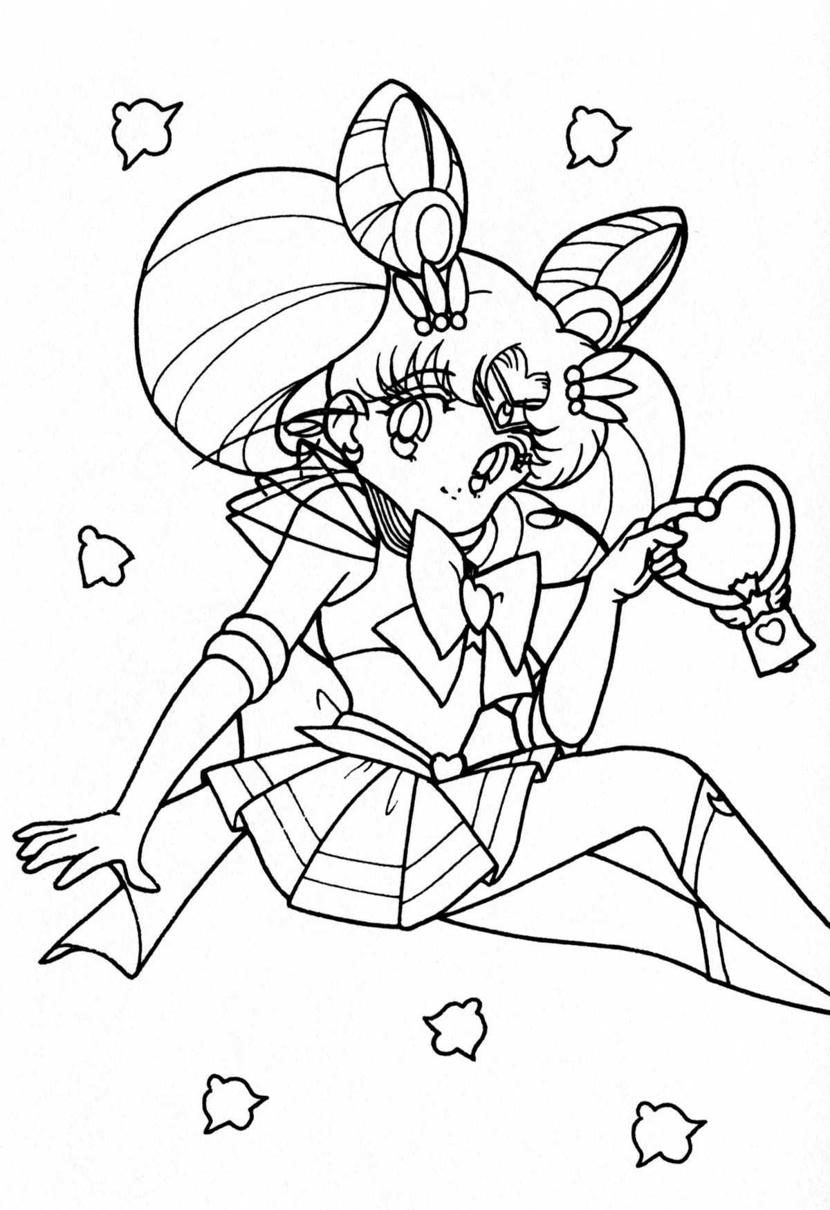 Sailor Moon Coloring Pages Coloring Pages For Sailor Moon Beautiful Tsuki Matsuri The