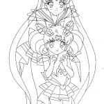 Sailor Moon Coloring Pages Fearsome Sailor Chibi Moon Coloring Pages Chibiusa Page Animals