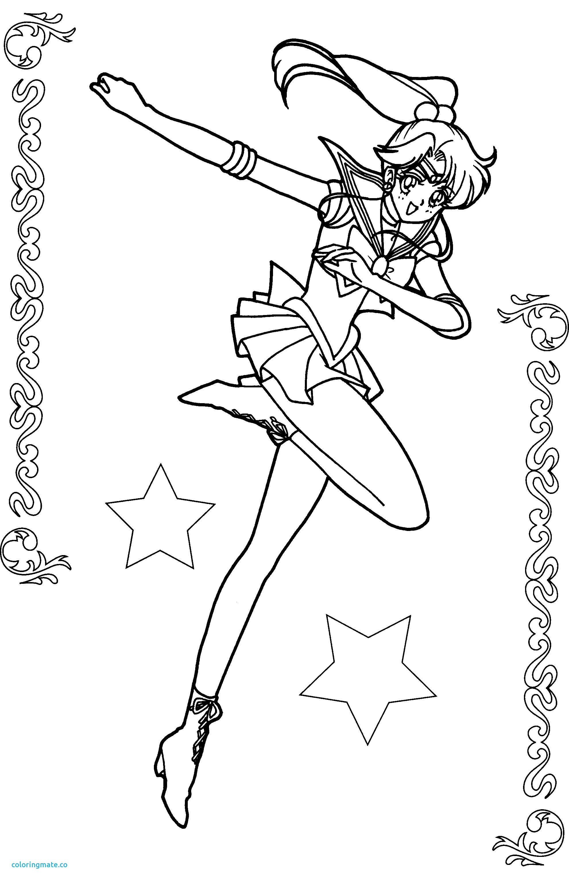 Sailor Moon Coloring Pages Jupiter Coloring Pages Jupiter Coloring Page Luxury Sailor Moon