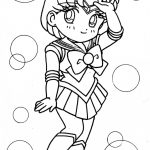 Sailor Moon Coloring Pages Sailor Mercury Coloring Pages 42911 Hypermachiavellism