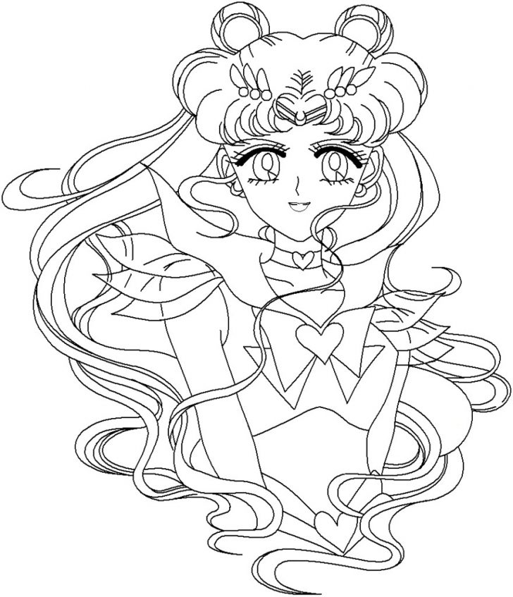 Sailor Moon Coloring Pages Sailor Moon Coloring Pages Coloring Pages For Kids