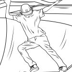 Skateboard Coloring Page Skateboard Ramp Coloring Page Free Printable Coloring Pages