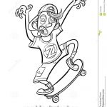 Skateboard Coloring Page Trendy Skateboard Coloring Pages Best Coloring Ideas