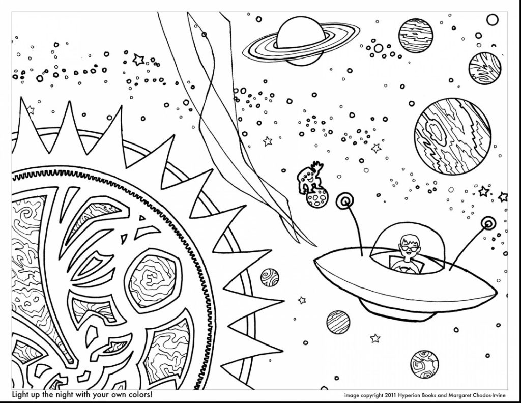 Solar Eclipse Coloring Page Solar System Coloring Pages Coloringrocks