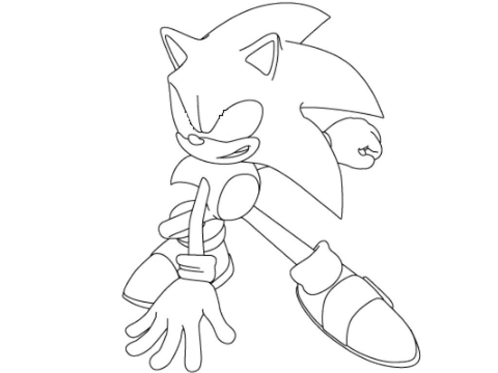 Sonic Coloring Page Cooloring Book 43 Excelent Super Sonic Coloring Pages For Kids To