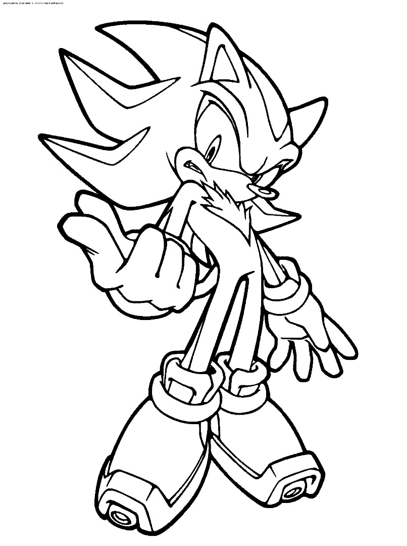 Sonic Coloring Page Super Sonic Coloring Pages