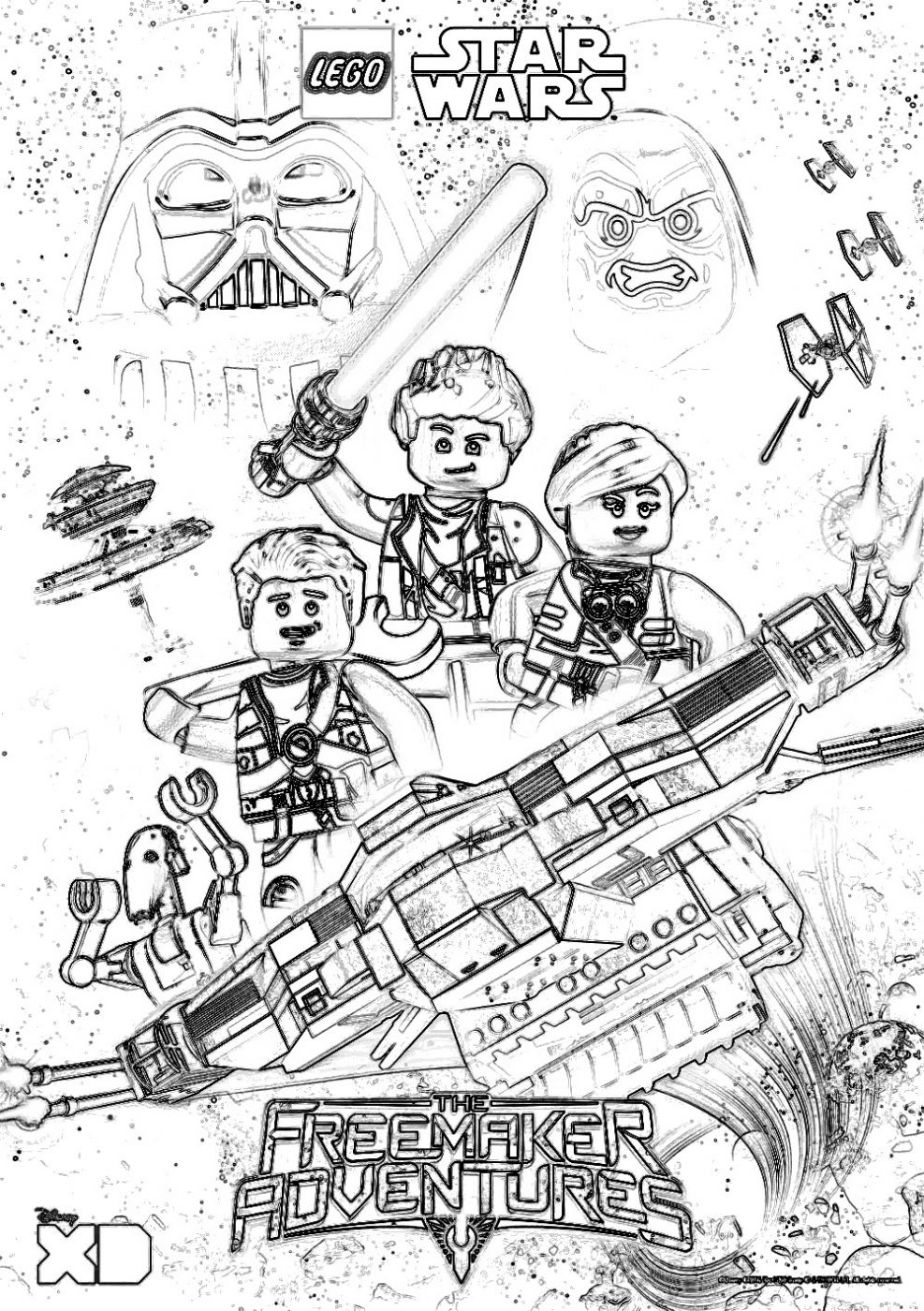 Star Wars Color Pages Striking Star Wars Colouring Pages To Print Out Clones Coloring