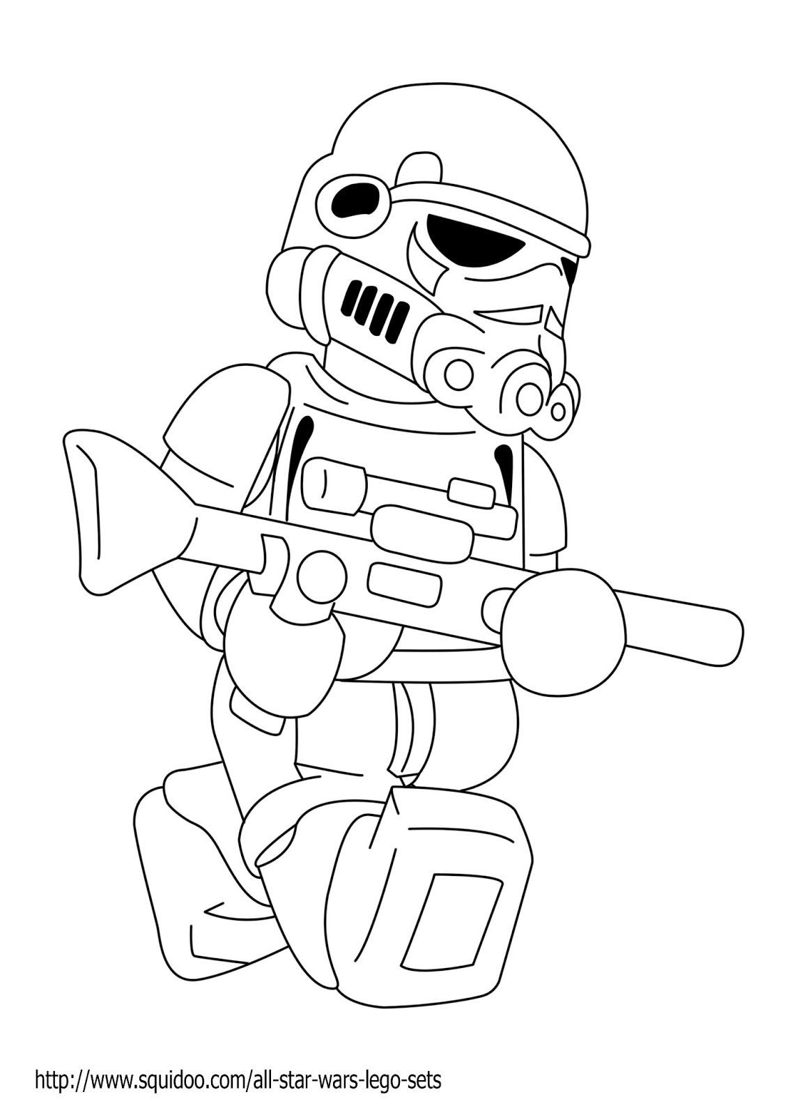 Starwars Coloring Pages In Lego Starwars Coloring Pages Best Coloring Pages Collection