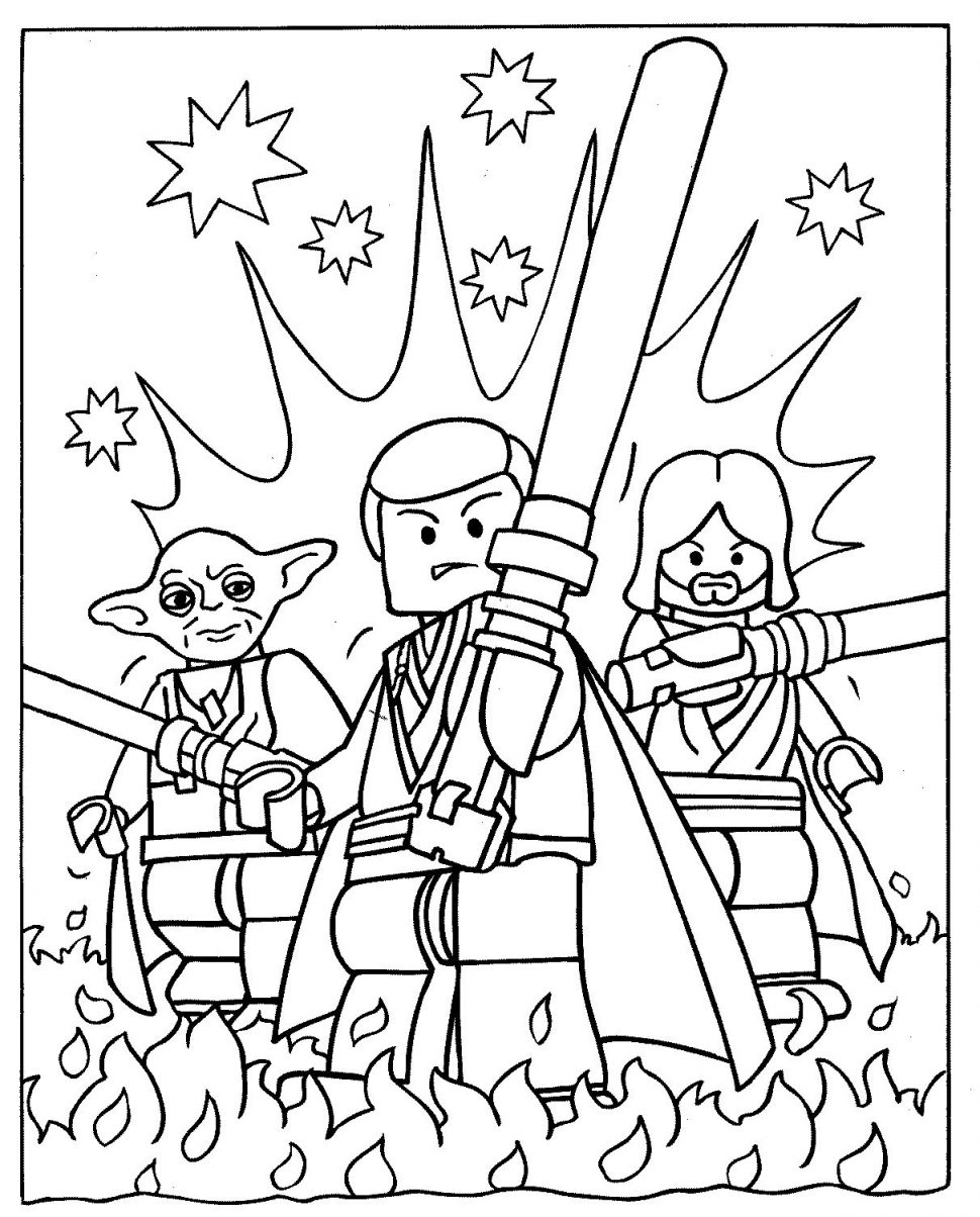 Starwars Coloring Pages Star Wars Characters Drawing At Getdrawings Free For Personal