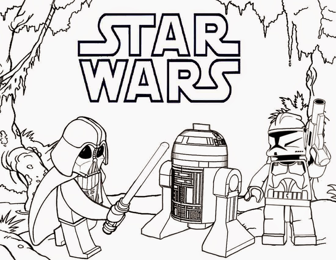 25+ Great Photo of Starwars Coloring Pages