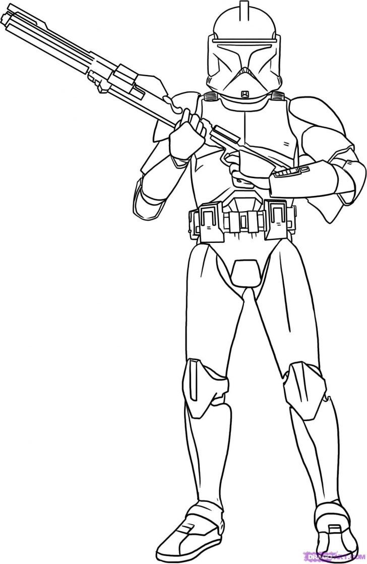 Starwars Coloring Pages Starwars Coloring Pages Starwars Coloring Pages Clobe Trooper