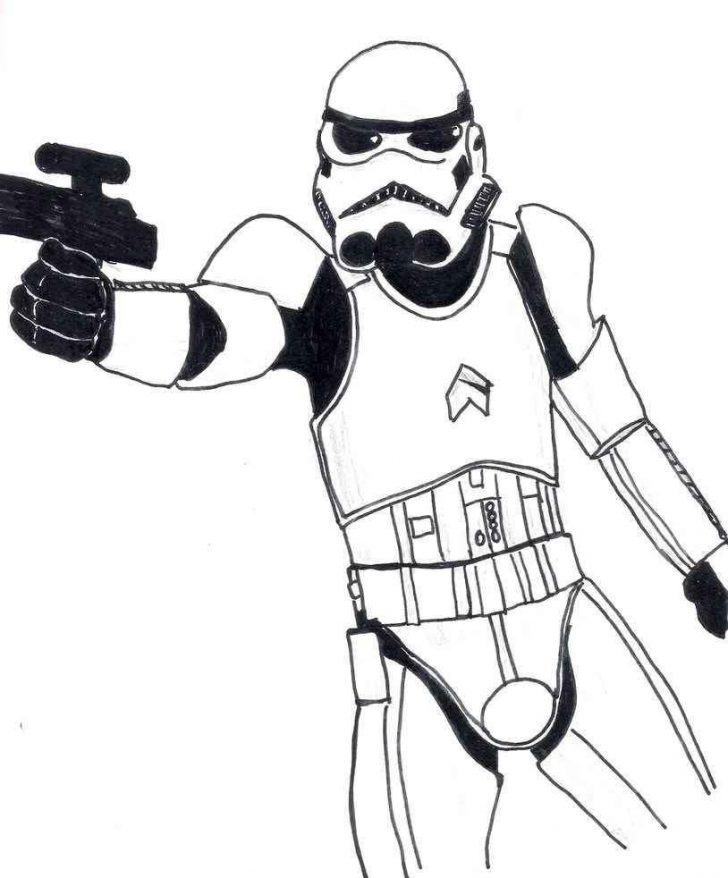 Stormtrooper Coloring Page Star Wars Stormtrooper Coloring Pages 814 X 982 5062 Kb