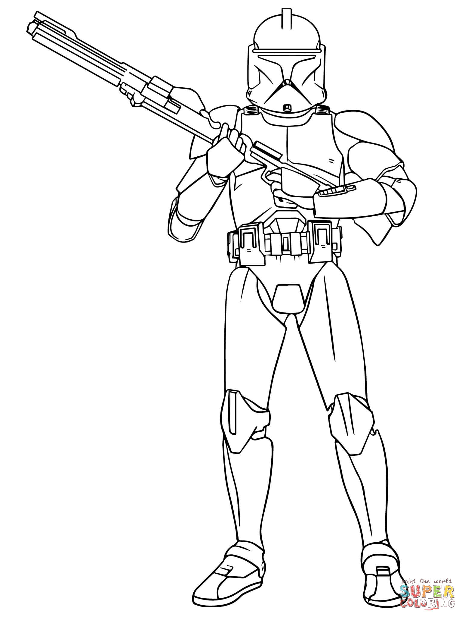 Stormtrooper Coloring Page Stormtrooper In Action Coloring Page Free Printable Coloring Pages