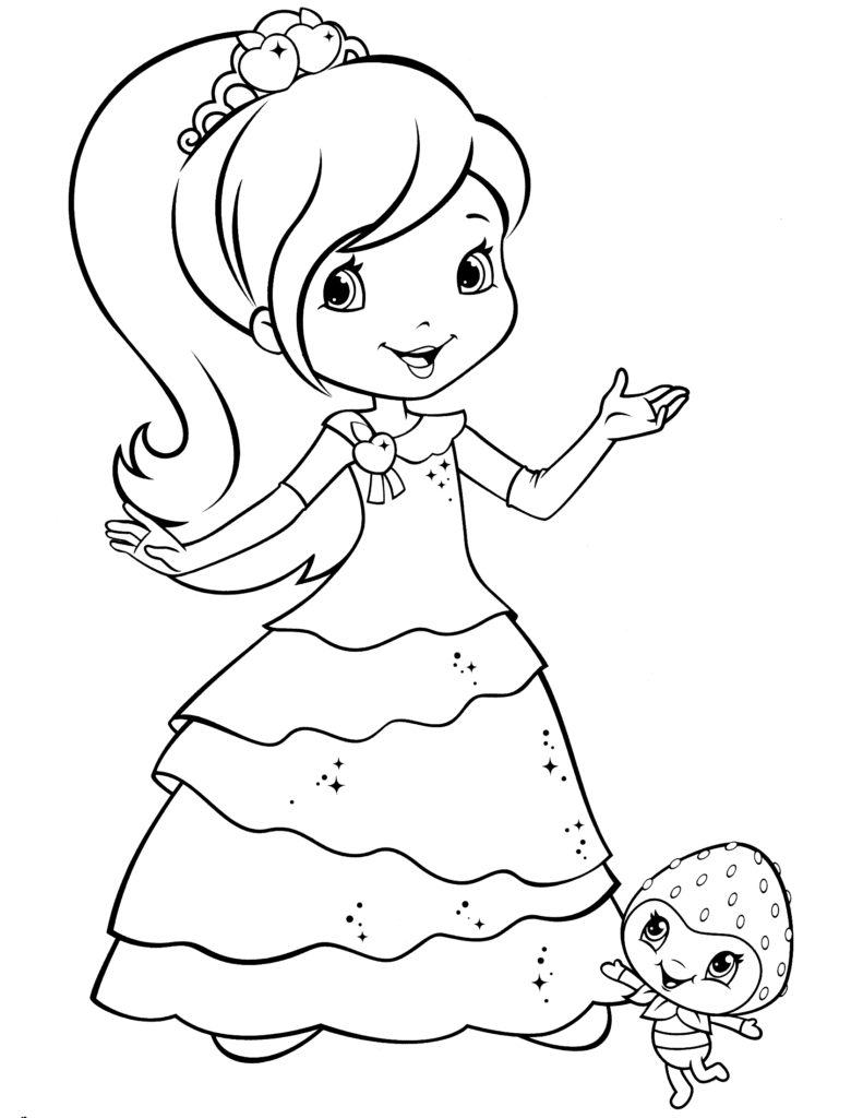 Strawberry Shortcake Coloring Pages Coloring Pages Strawberry Shortcake Coloring Pages Pdf Coloring