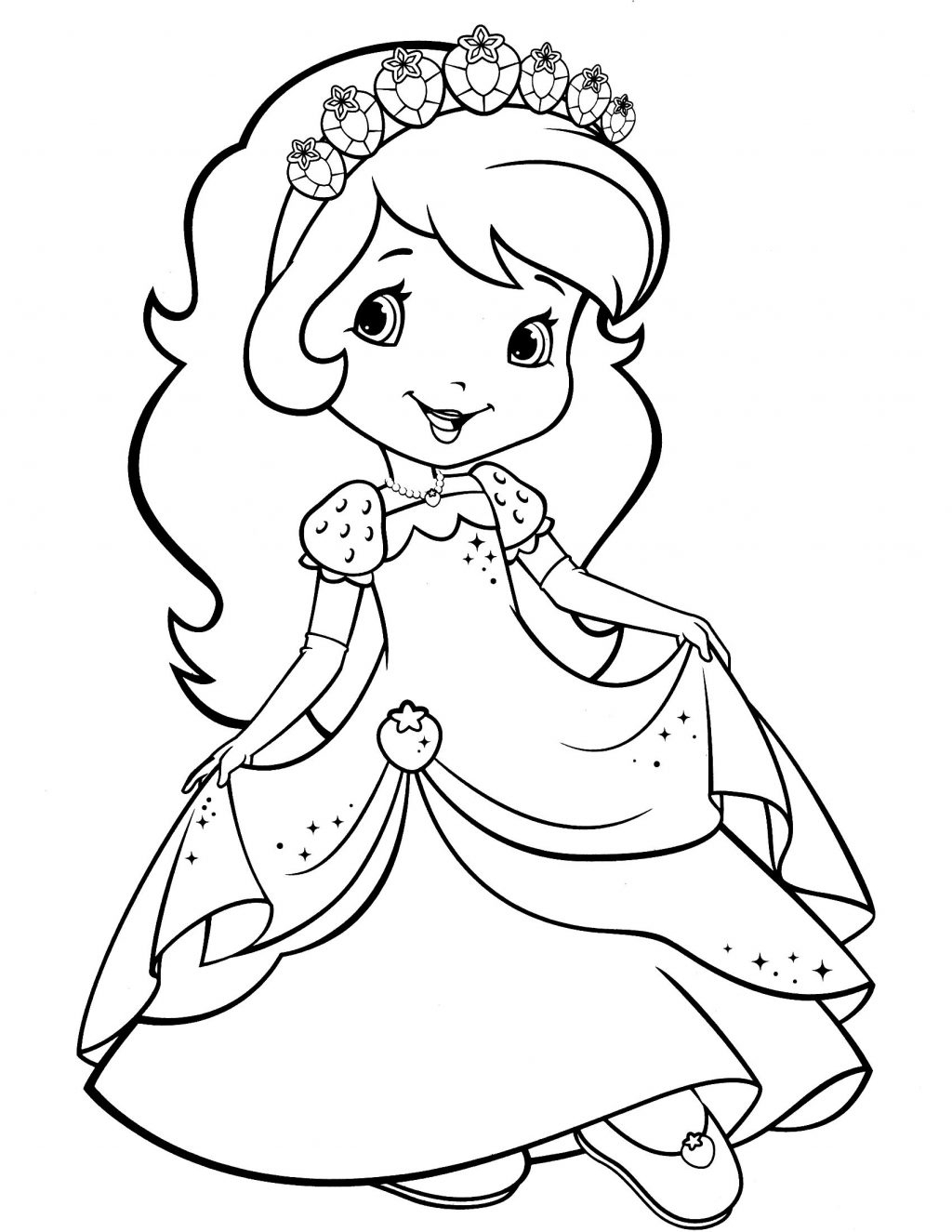 Strawberry Shortcake Coloring Pages Coloring Pages Strawberry Shortcakeloring Book Best Of Pages