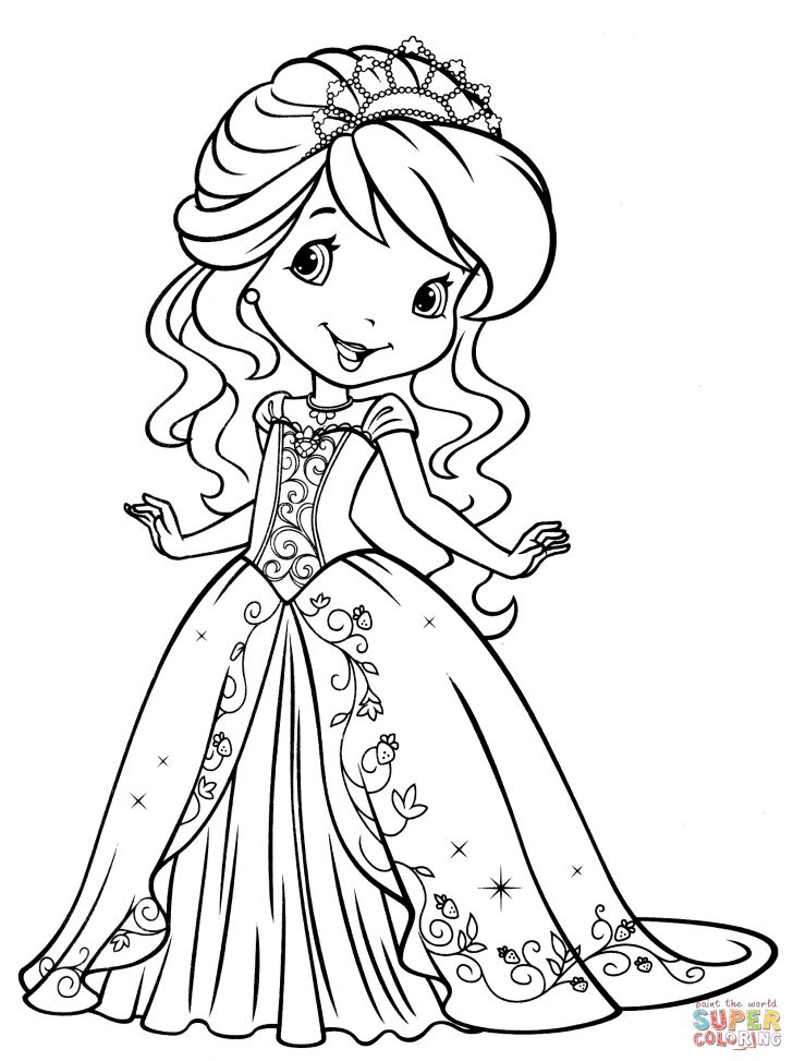 Strawberry Shortcake Coloring Pages Strawberry Shortcake Coloring Page Free Printable Coloring Pages