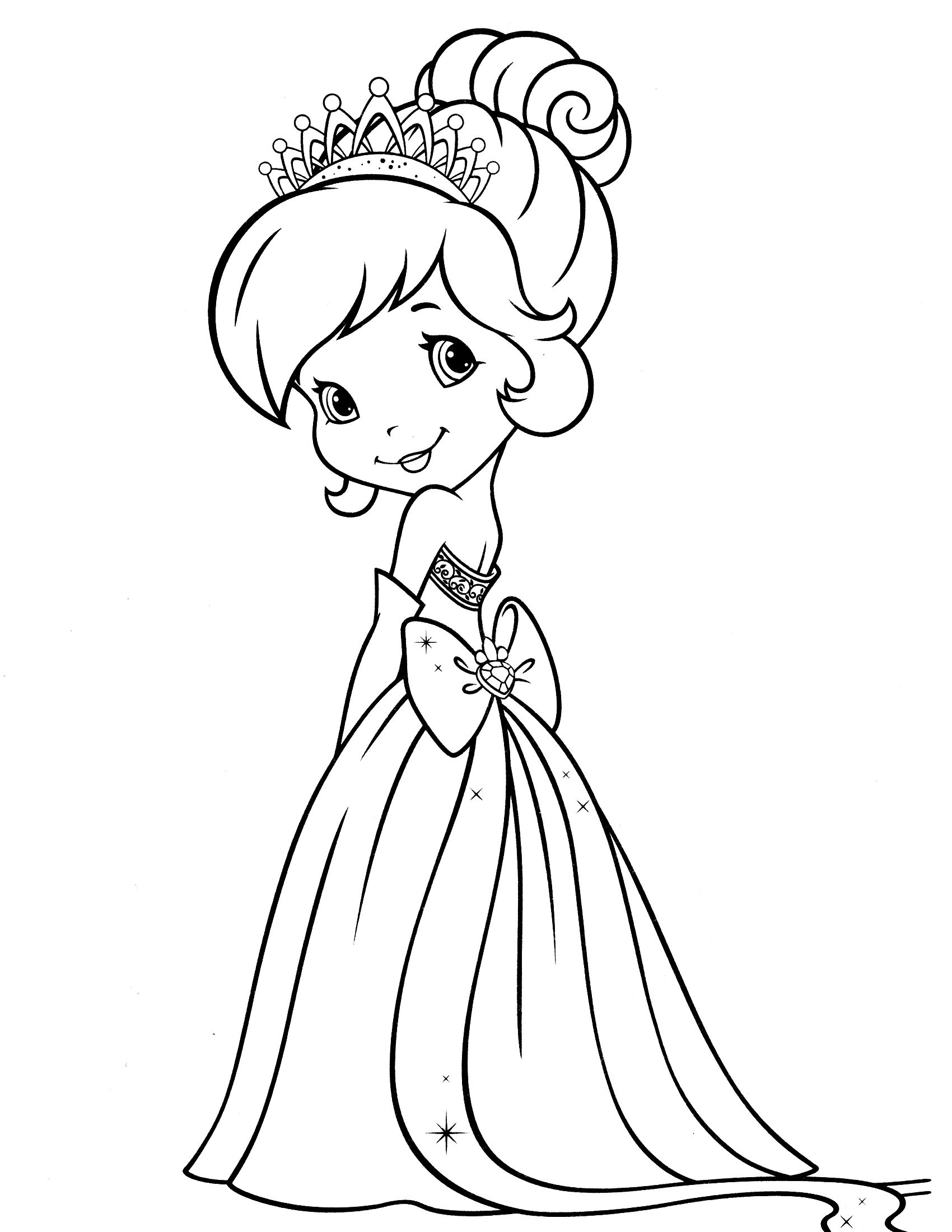 Strawberry Shortcake Coloring Pages Strawberry Shortcake Coloring Pages For Kids Free Printable Activity