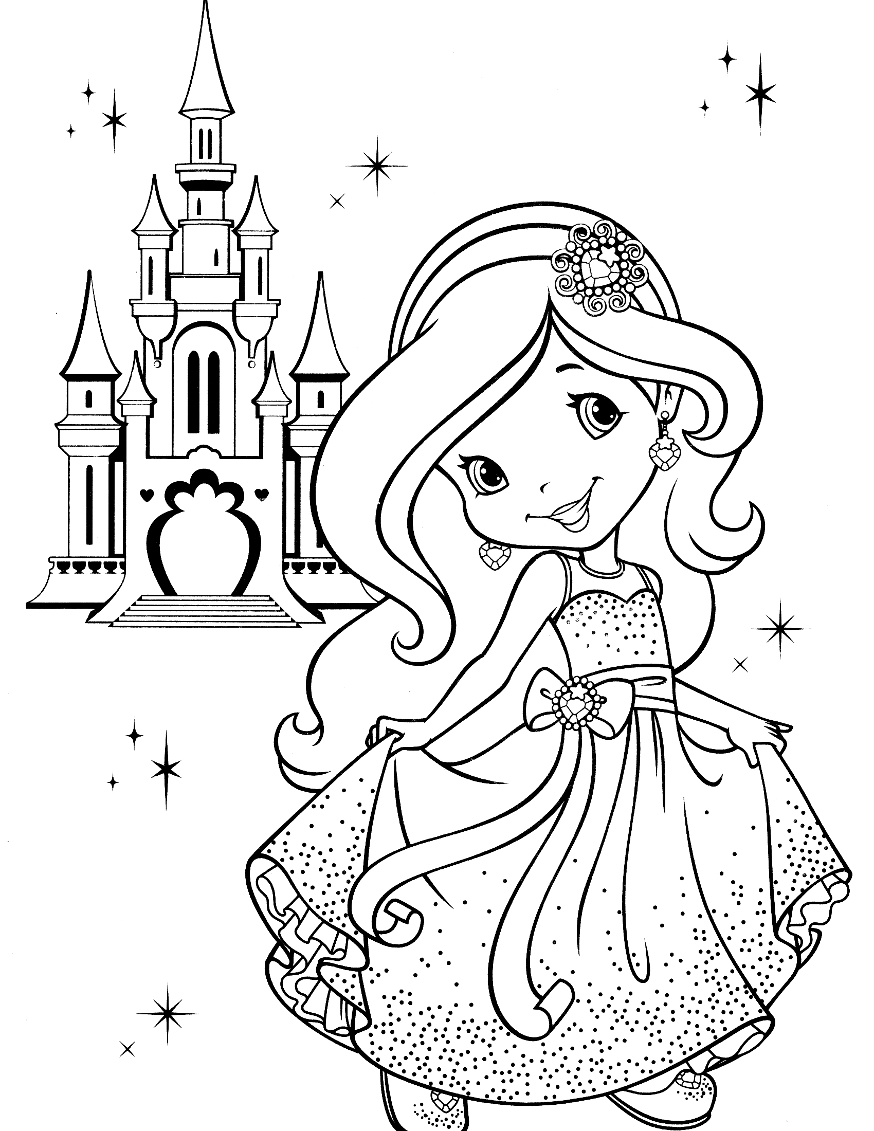 Strawberry Shortcake Coloring Pages Strawberry Shortcake Coloring Pages Strawberry Shortcake Coloring