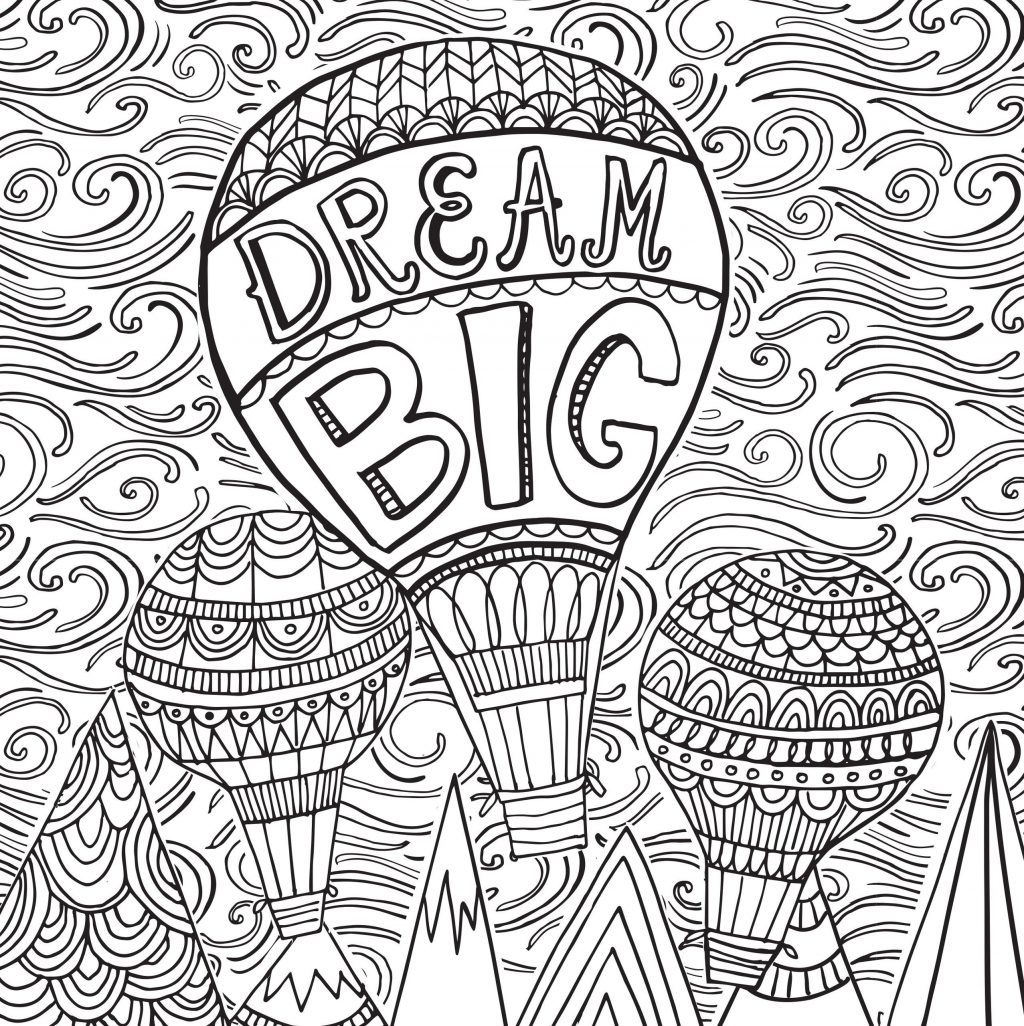 25+ Best Image of Stress Relief Coloring Pages