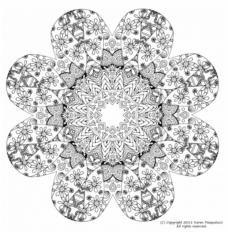 Stress Relief Coloring Pages Mandala Stress Relief Coloring Pages Inspirational Free Printable