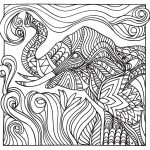 Stress Relief Coloring Pages Stress Relief Coloring Pages Elephant