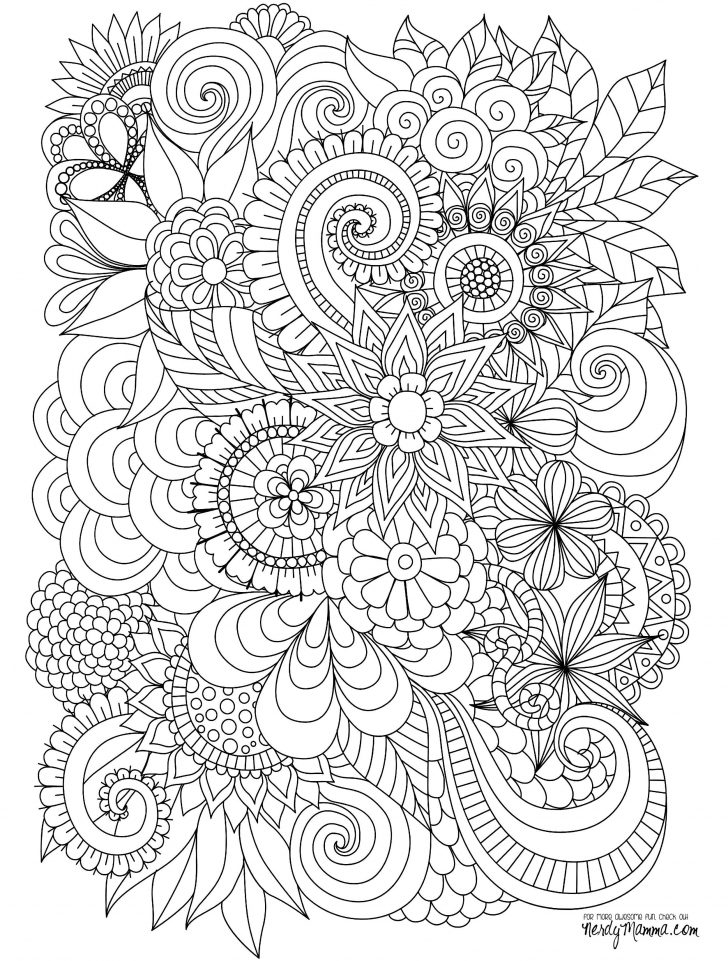 Stress Relief Coloring Pages Stress Relief Coloring Pages Luxury Photos Flowers Abstract Coloring
