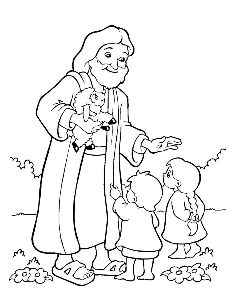 25+ Best Photo of Sunday School Coloring Pages