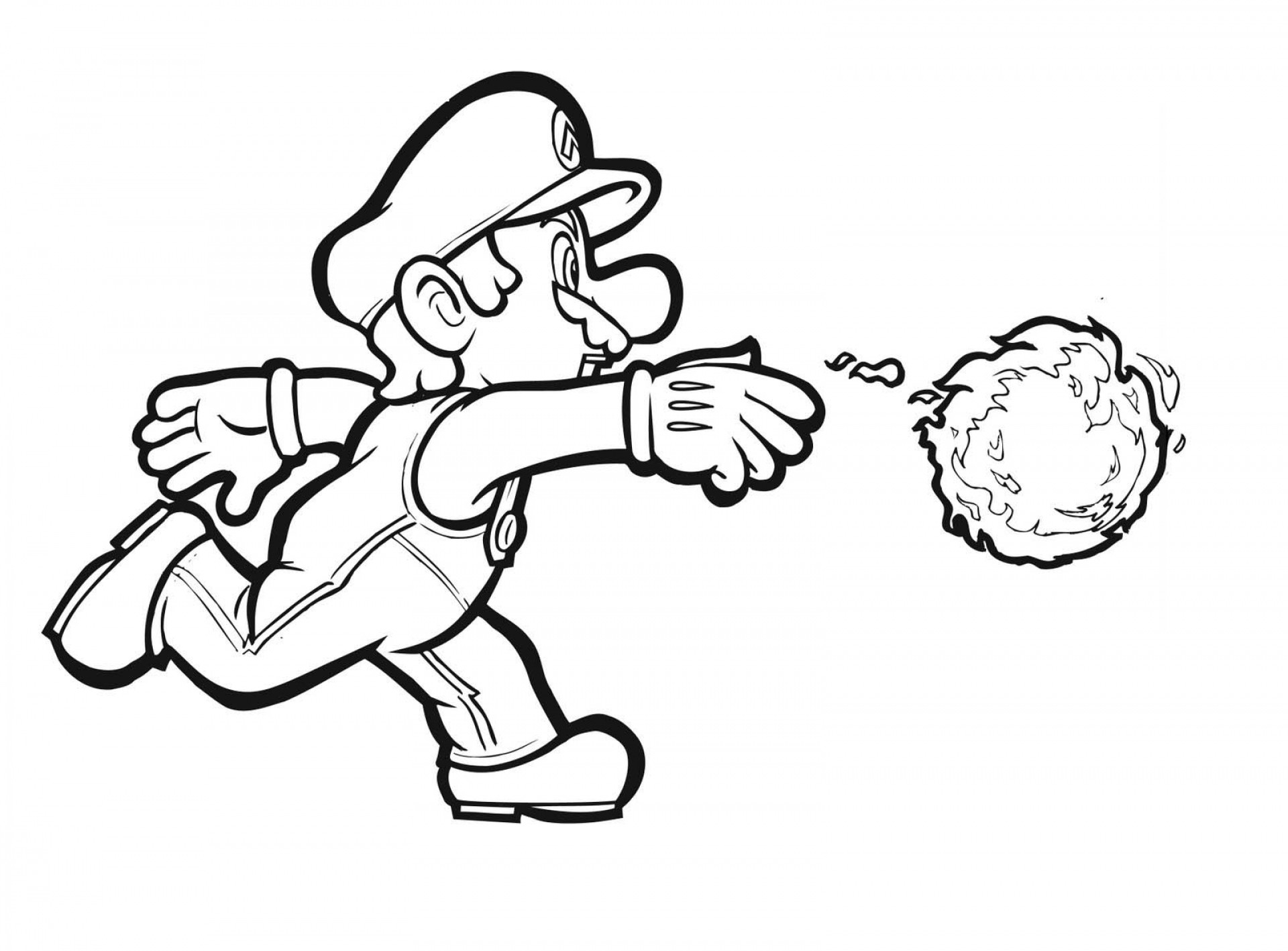 Super mario bros coloring pages super mario brothers coloring pages
