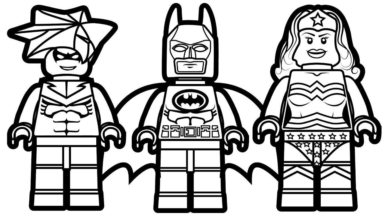 Superhero Coloring Page Lego Superhero Coloring Pages Coloring Page