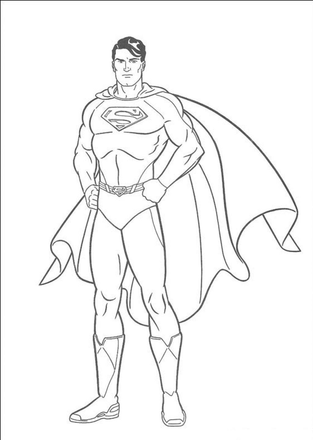Superman Coloring Page Superman Coloring Pages 30140 New 15 Cool Coloring Pages For
