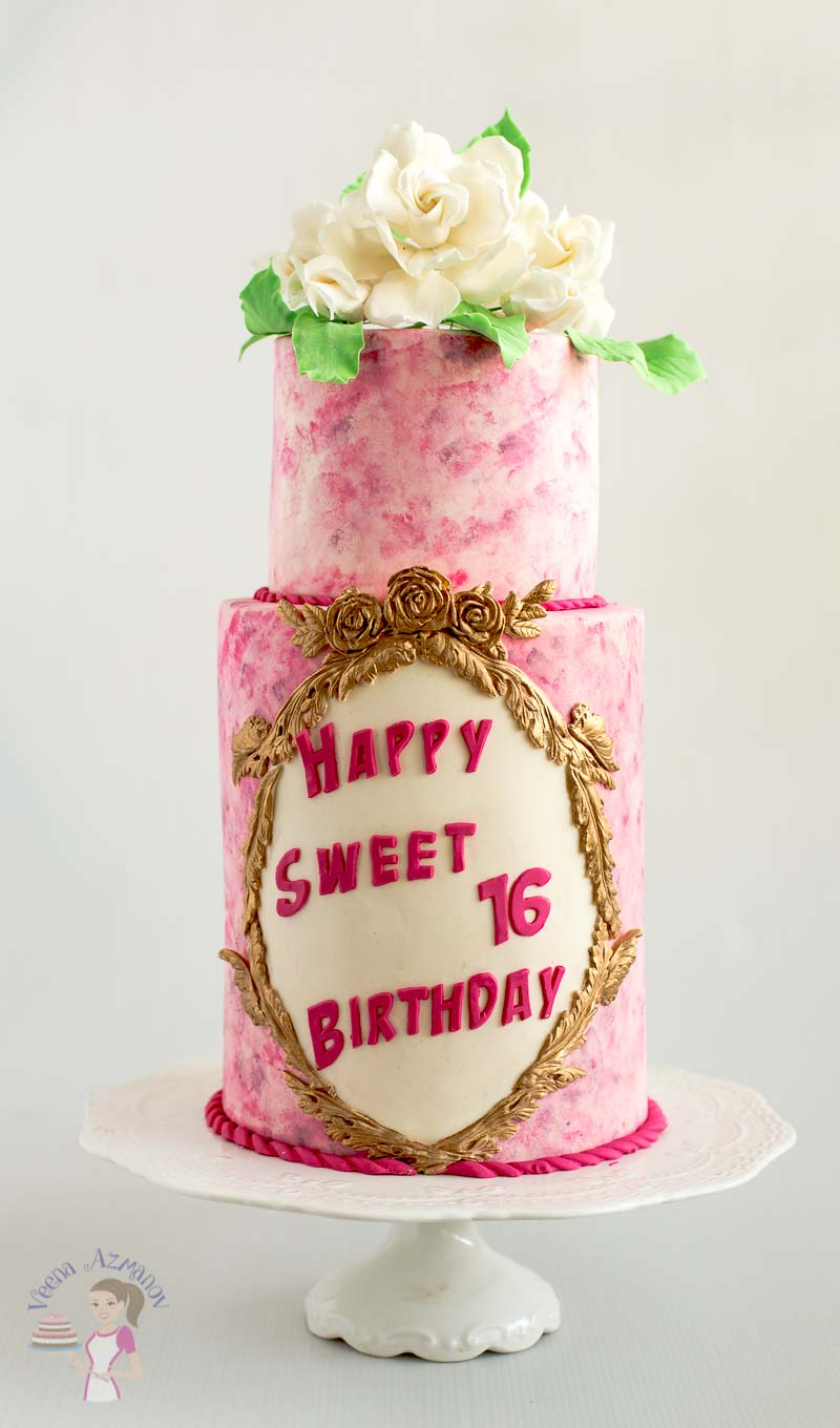 1360 In 21 Inspired Picture Of Sweet 16 Birthday Cake Ideas